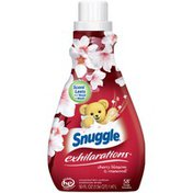 Snuggle Exhilarations Cherry Blossom & Rosewood 58 Loads Liquid Fabric Softener