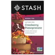 Stash Tea Cranberry Pomegranate Herbal Tea, Caffeine Free