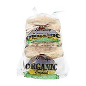 Barowsky's Organic English Muffins 100% Sprouted Whole Wheat - 6 CT