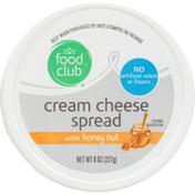 Food Club Cream Cheese Spread With Honey Nut