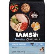 IAMS Sensitive Naturals Ocean Fish + Rice Recipe Adult 1+ Years Dog Food