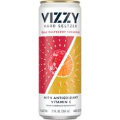 Vizzy Hard Seltzer Raspberry Tangerine Beer