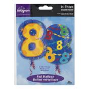 Anagram Jr. Shape Foil Balloon 8