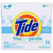Tide Ultra Free and Gentle Powder Laundry Detergent