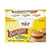 Banquet Sausage Breakfast Sandwich