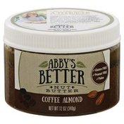 Abbys Better Nut Butter Coffee, Almond