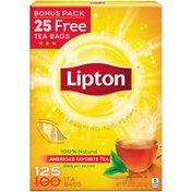 Lipton Black Tea Bags 100% Natural