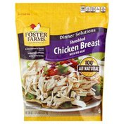 Foster Farms Chicken, Breast, Shredded, with Rib Meat