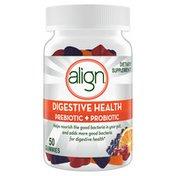Align Prebiotic + Probiotic Gummies, Fruit Flavored