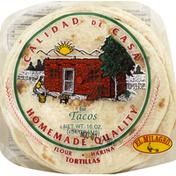 El Milagro Tortillas, Flour, for Tacos