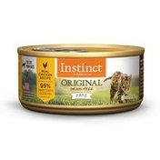 Instinct Original Grain Free Real Chicken Recipe Pate Canned Cat Food