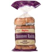 Hy-Vee Cinnamon Raisin Larger Bakery Style Bagels