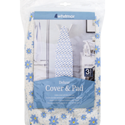 Whitmor Cover & Pad, Deluxe, Daisies