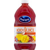 Ocean Spray 100% Juice No Sugar Added Cranberry Mango
