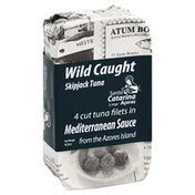 Santa Catarina Tuna Filets, Mediterranean Sauce, Wild Caught, Skipjack Tuna, Wrapper
