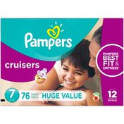Pampers Size 7 Diapers