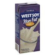 West Soy Soy Milk, Vanilla, Non Fat