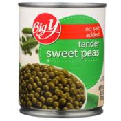 Big Y No Salt Added Tender Sweet Peas