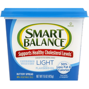 Smart Balance Buttery Spread, Light, with Flaxseed Oil