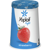 Yoplait Light Strawberry, Fat Free Yogurt