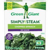 Green Giant No Sauce Chopped Spinach