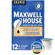 Maxwell House Light Coffee Light Roast K-Cup® Coffee Pods