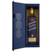 Johnnie Walker Blue Label Blended Scotch Whisky with Blue Label Pen