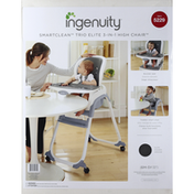 Ingenuity High Chair, Trio Elite, 3-in-1, Slate
