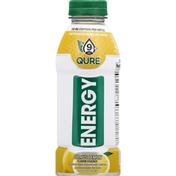 Qure Alkaline Water, Citrus Lemon