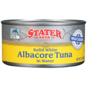 Stater Bros Solid White Albacore Tuna In Water