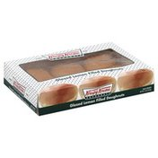Krispy Kreme Snack, Doughnuts, Glazed Lemon Filled, Box