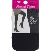 On the Go! Footed Tights Queen Black
