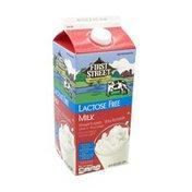 First Street Lactose Free Milk