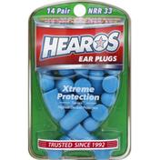 Hearos Ear Plugs, NRR 33