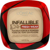 L'Oreal Foundation, Fresh Wear, Porcelain 10