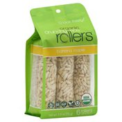 Crunchy Rollers Rice Rollers, Crunchy, Banana Maple, Organic