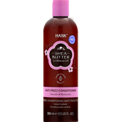 HASK Anti-Frizz Conditioner, Shea Butter & Hibiscus Oil