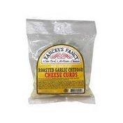 Yancey's Fancy Cheese Curds, Roasted Garlic Cheddar