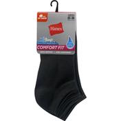 Hanes Socks, Comfort Fit, No Show, 5-9, Women's
