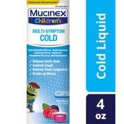 Mucinex® Children's Multi-Symptom Cold Liquid, Very Berry