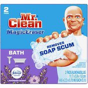 Mr. Clean Bath with Febreze Lavender scent, Cleaning Pads with Durafoam