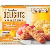 Jimmy Dean Delights Fully Cooked Applewood Smoke Chicken Sausage Links