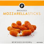 Publix Mozzarella Sticks, Breaded