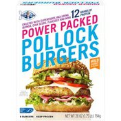 High Liner Pollock Burgers