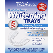 Face Values Whitening Trays, Dry-to-the-Touch