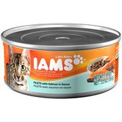 IAMS Adult Cat Filets with Salmon in Sauce Cat Food