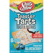 Shurfine Frosted Blueberry Toaster Tarts Toaster Pastries