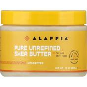 Alaffia Shea Butter, Pure Unrefined, Unscented