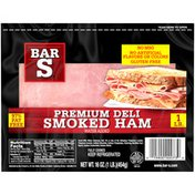 Bar-S Premium Deli Smoked Ham