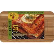 TrueFire Gourmet Grilling Planks, Cedar, 5 Pack
